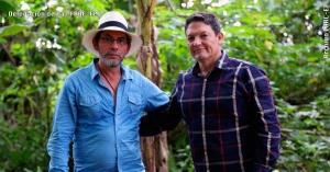 "General Alzate and FARC commander alias ""Pablo Alape."""
