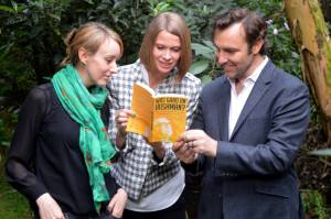 The book's three editors: Caroline Doherty de Novoa, Victoria Kellaway, and Richard McColl.